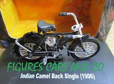MOTO 1/32  INDIAN CAMEL BLACK SINGLE 1906  MOTORCYCLE MOTORRAD