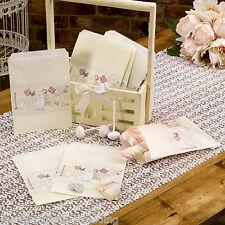 Con Amor-Paquete de 25 bolsas de papel Cariño-Fiesta Boda y Candy Buffet