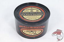 Alaska Wild Smoked Sockeye Salmon - 6.5oz Can (Low Carbohydrate)
