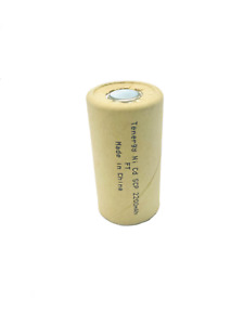 Tenergy Sub C 1.2V 2200mAh NiCd Paper Wrapped Rechargeable Battery 20305-0