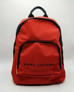 MARC JACOBS All Star Red Nylon Backpack Bag NEW