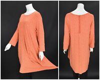 Womens The Masai Clothing Company Tunic Dress Orange Floral Viscose XXL / 2XL