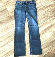 Joes Womens Size 29 Bootcut Mid Rise Medium Wash Stretch Denim Blue Jeans