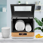 Countertop Dishwasher with 3 Programmes LED Display Compact Tabletop Dishwasher photo