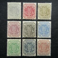 GB UK QV 1895 - 1896 Stamps MNH Coat of Arms Transvaal British Colony Occupation