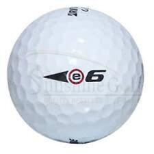 50 NEAR MINT Bridgestone e6 AAAA Used Golf Balls