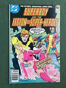 Superboy Legion of the Super-Heroes #258 DC Comics Bronze Age vf