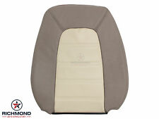 02-05 Explorer Eddie Bauer PERFORATED -Driver Lean Back Leather Seat Cover TAN