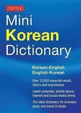 Miniature Paperback Dictionaries in English