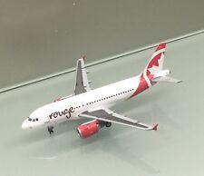 Gemini Jets 1/400 Air Canada Rouge Airbus A319 C-GBHK die cast metal miniature