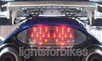 LED Heckleuchte Rücklicht weiss Honda Varadero XL 1000 V SD01 SD02 1999-2007