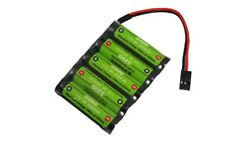 D-Power Empfängerakku 6,0V 2200mAh NiMh NEU JR/Uni Stecker 5-Zellen Akku 6V