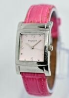 Women's Kenneth Cole New York Watch, Stainless Steel, Pink Face Leather, KC-2326