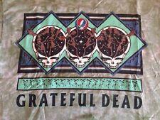Grateful Dead Tie Dye Dancing Moose G.D.M. 1995 Authentic Jester 2-sided Rare Lg