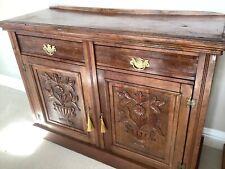More details for antique sideboard cupboard