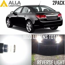 Alla Lighting Back-up Reverse Light 921 White LED Bulbs Backup Lamp for Chevy 2x