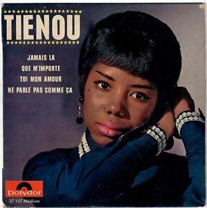 TIENOU Jamais là 1964 RARE EP polydor French 60s Yé-yé girl Beat Twist