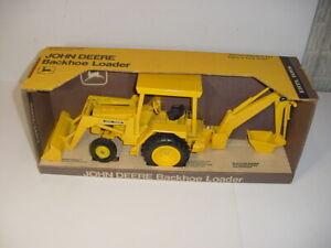 1/16 Vintage John Deere Backhoe Loader by ERTL (1975) W/Original Box! Nice!
