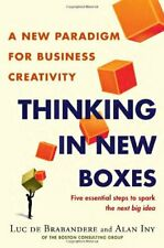 Thinking in New Boxes: A New Paradigm for Business Creativity by Alan Iny Book
