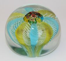 GROSSER MURANO GLAS BRIEFBESCHWERER ITALY DESIGN PAPERWEIGHT ITALIAN ART GLASS