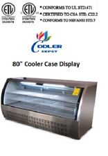 80 In Commercial Deli Bakery Pastry Cooler Case Display Fridge DC200 NSF *WHITE*