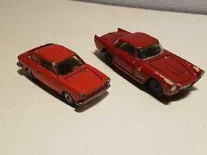 Mercury - Lotto Maserati + Fiat 850 - scala 1/43