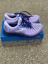 Brooks Glycerin 17 Size 5 Running Shoe Purple/navy/grey Women's