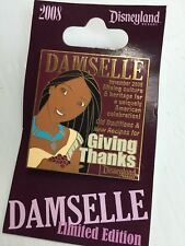 Disney Pocahontas Damselle Giving Thanks Limited Edition Pin