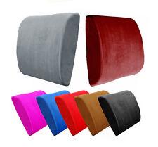 Premium Memory Foam Lumbar Cushion Back Support Pillow Car Seat Home Office Chai