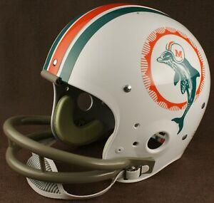 MIAMI DOLPHINS 1972 NFL Authentic THROWBACK Football Helmet