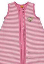 Steiff Baby Mädchen Schlafsack Ringel-Jersey  110 cm rosa neu