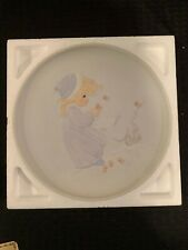 "Precious Moments ""Winter's Song"" 1984 - Collector's Plate #12130"