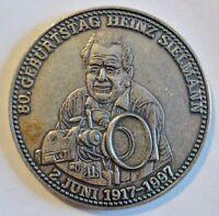 Medaille - Stiftung Heinz Sielmann - 80.Geburtstag H. Sielmann 1917-1997