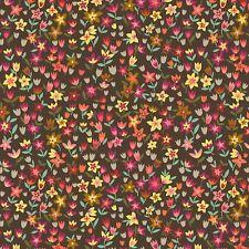 MINI Tulipani Stampa Retro tessuto - Suffolk GIARDINO Dashwood - AL METRO