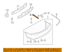 Infiniti NISSAN OEM 06-07 M35 Front Bumper-Bumper Cover Filler Right 62094EG010