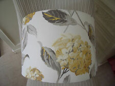 Handmade Drum Lampshade Laura Ashley Hydrangea fabric all colours