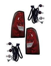 04 05 06 07 Silverado Left&Right Taillight Taillamp Lamp Light Assembly Pair L+R