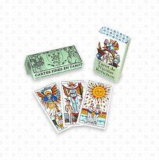 MINI Tarot de Marseille Nicolas Rolichon (Lyon) pocket style ancien dodal payen