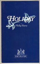 "Malcolm McDowell & Mary Steenburgen  ""Holiday""  Playbill  London 1987"