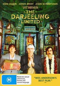 The Darjeeling Limited (DVD, 2008) Owen Wilson,  Adrien Brody, Bill Murray R4
