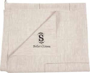 100% Pure Flax Linen Bath Towel