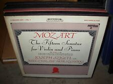 SZIGETI / HORSZOWKI / MOZART 15 fifteen sonatas violin piano 1 ( classical ) box