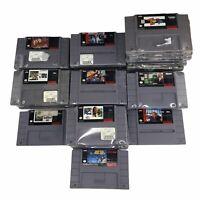 Lot of 37 SNES Super Nintendo Games Wholesale Bulk Reseller Lot
