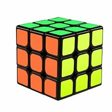 The Cube 3x3x3 Speed Cube 3D Puzzle Game by Funlovers  Classic 3x3 Magic Speed