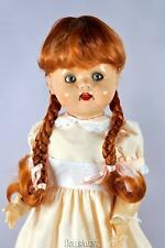 "DOLL WIG BEAUTIFUL CARROT BRAIDS 14/15"" FITS VINTAGE SAUCY WALKER 22"" DOLLS"