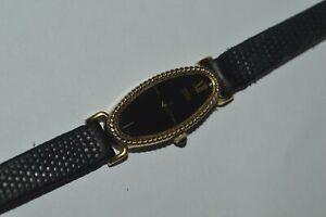 "SEIKO Watch 1320-5239 Lady's Quartz 15 mm Works Fine 8"" Strap Japan Made Vintage"