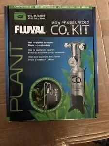 FLUVAL PRESSURISED CO2 SYSTEM KIT 95g FISH TANK Now Bigger Size.