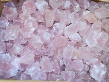 5 lb ROSE QUARTZ Beautiful Rough TUMBLING ROCK Crystal Tumbler Madagascar