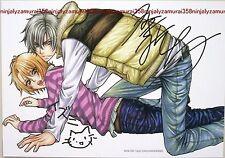Taishi Zaou Love Stage card promo anime official Yaoi BL