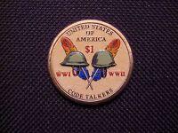 2016 Sacagawea Sac Dollar Code Talkers 2 Sided(1 Coin)